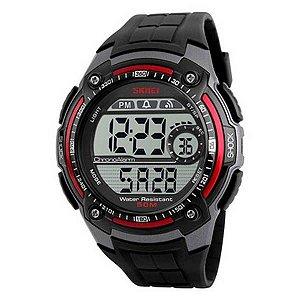 Relógio Masculino Skmei Digital 1203 - Preto/Vermelho