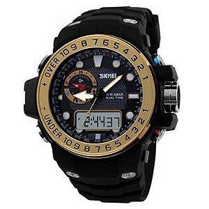 Relógio Masculino Skmei Anadigi 1063 OU