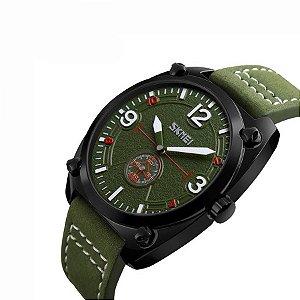 Relógio camuflagem Skmei 9155 Verde - resistente a água