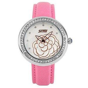 Relógio Skmei Analógico 9087 RS-PR - Feminino