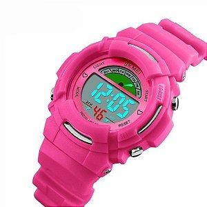 Relógio Infantil Skmei Digital 1272 Rosa (5153)