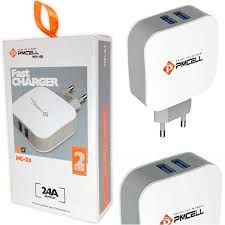 Fast Charger 2 USB PMCELL 2.4A