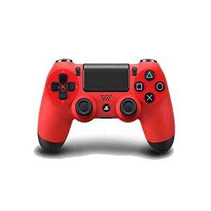 Controle Dualshock 4 Vermelho