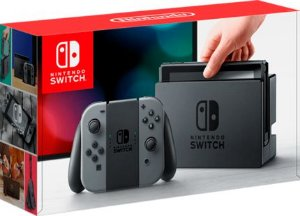 Console Nintendo Switch - Cinza 32GB