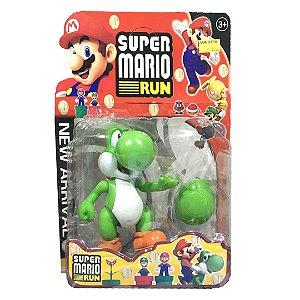 Boneco Super Mário Run - Yoshi