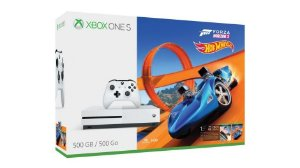 CONSOLE XBOX ONE S 500GB+ Forza Horizon 3 Hotwheels