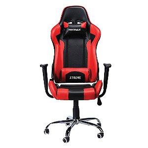Cadeira Gamer MX7 Giratória Preto/Vermelho