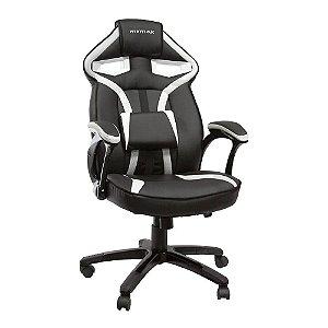 Cadeira Gamer MX1 Giratória Preto/Branco