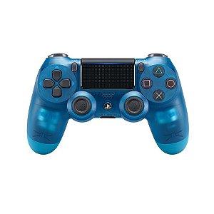 Controle DualShock 4 Azul Cristal