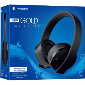 Headset Sony New Gold Wireless