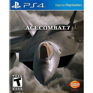 Ace Combat 7: Skies Unknown - PS4- Lançamento em 2018