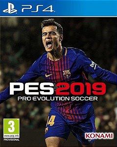 PES 2019 - PS4 - Lançamento previso para dia 30/09/2018
