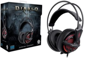 Headset Steelseries Siberia V2  - Diablo 3 Edition