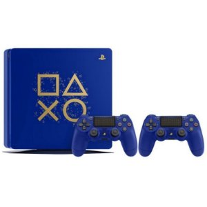 Console Playstation 4 Slim 500GB Edição Limitada Days of Play 2 Controles - Azul