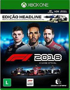 F1 2018 - Xbox One - Edição Headline - Lançamento para dia 24 de agosto de 2018