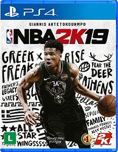 NBA 2K19 - PS4 - Lançamento dia 11 de setembro de 2018