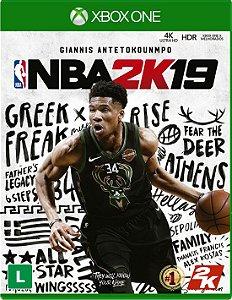 NBA 2K19 - Xbox One - Lançamento dia 11 de setembro de 2018