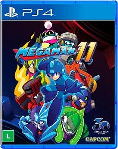 Megaman 11 - PS4 - Lançamento previsto para 03/10/2018