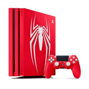 Console Playstation 4 Pro 1TB - Marvel Spider Man Bundle
