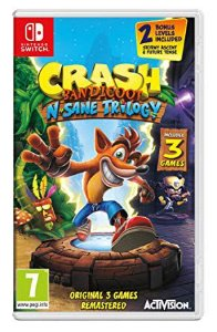 Crash Bandicoot N'Sane Trilogy - Nintendo Switch