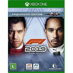 F1 2019 Anniversary Edition - Xbox One - Lançamento previsto para dia 28/06/2019