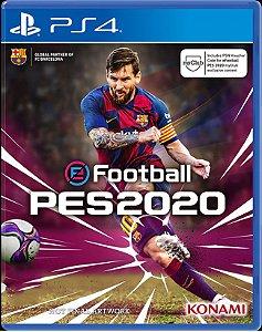 PES 2020 Pro Evolution Soccer Efootball - PS4 - Lançamento previsto para dia 10/09/2019