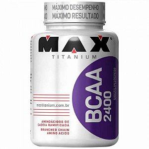 BCAA 2400mg 60 Cáps - Max Titanium
