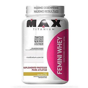 Femini Whey 600g - Max Titanium
