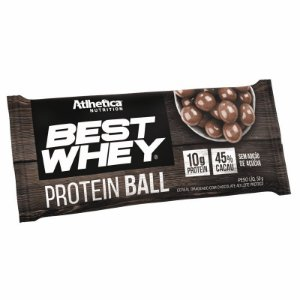 Best Whey Ball 50g 12 Unidades - Atlhetica Nutrition