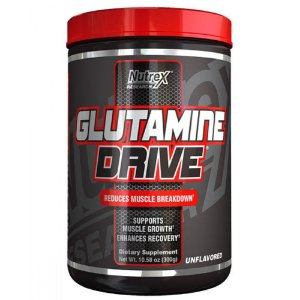 GLUTAMINE DRIVE BLACK NUTREX RESEARCH - 300G