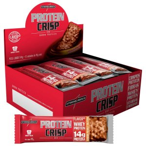 Protein Crisp Bar - cx 12 - Integralmedica -