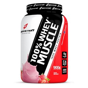 100% Whey Muscle - Body Action - 900g