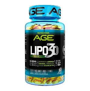 Lipo 3D AGE - Nutrilatina - 60 Caps