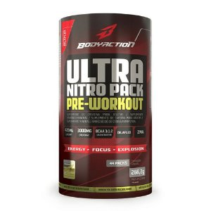 Ultra Nitro Pack Pre-Workout - Body Action - 44 Packs