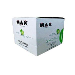 +Sabor (Limão)- Cx 6 Un - Max Titanium
