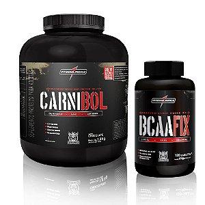 Kit Darkness Carnibol Beef 1,8kg + Bcaafix 120tbs - IntegralMedica
