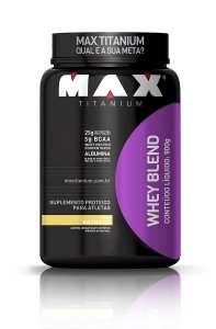 Whey Blend Pote 900g - Max Titanium