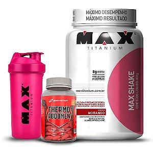 Kit Emagrecimento Max/Body - Max Shake  + THERMO Abdomen