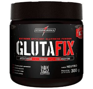 Gluta Fix (Glutamina) 300g - Integral Medica - Darkness