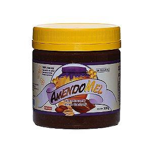 Pasta de Amendoim  (Cacau Crocante) 500g - Amendomel