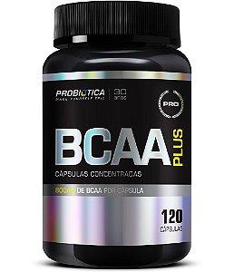 BCAA PLUS 800 (COM 120 CAPSULAS) - PROBIOTICA