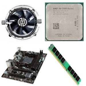 Kit Upgrade AMD A8-9600 Quad Core 3.1GHz (3.4Ghz Turbo) Socket AM4