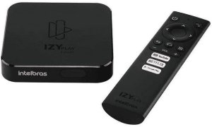 Smart Box Intelbras Tv Izy Play Preto