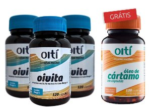 KIT OIVITA + ÓLEO DE CÁRTAMO Promoção