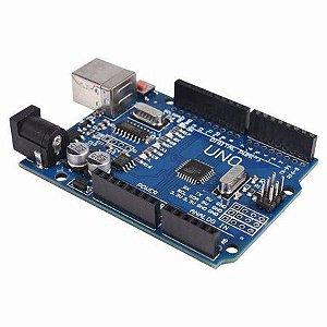 Arduino Uno Rev3 R3 Atmega328 Smd - Robotica Automação