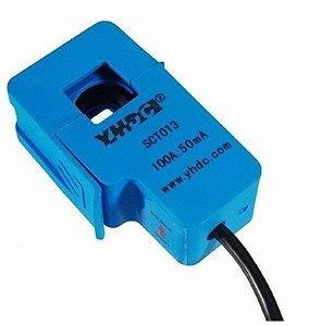 Sensor De Corrente Ac 100a Não Invasiva Sct-013-000 Arduino