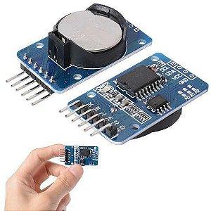 Módulo Rtc Relógio Em Tempo Real Para Arduino Ds3231 At24c32