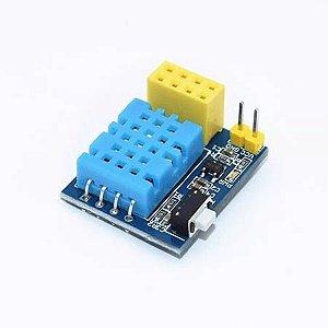 Sensor Temperatura E Umidade Dht-11 Para Módulo Wi-fi Esp-01