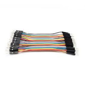 40 Jumpers Macho-macho 10cm Cabo Jumper Arduino