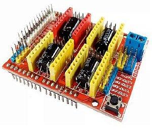 Escudo Cnc Shield V3 Para Impressora 3d Reprap Arduino